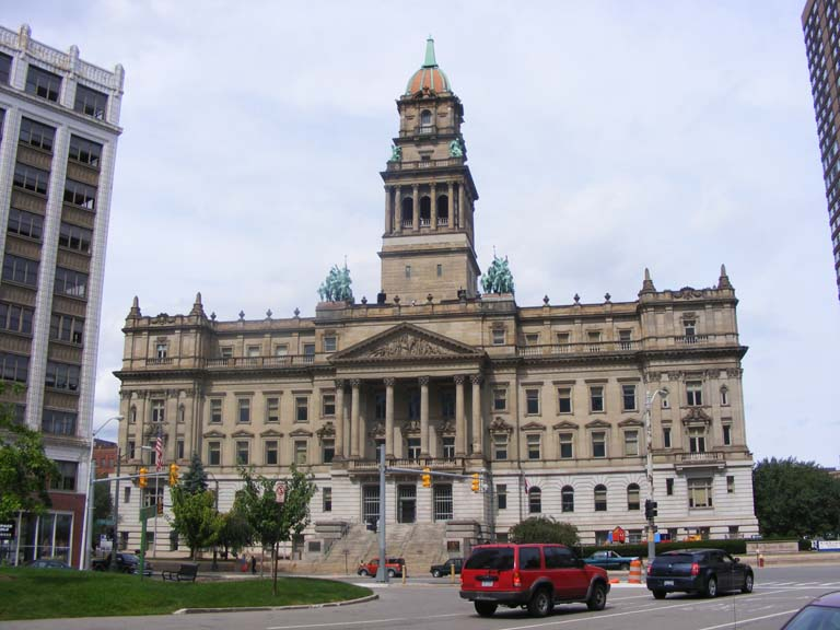 Detroit city hall